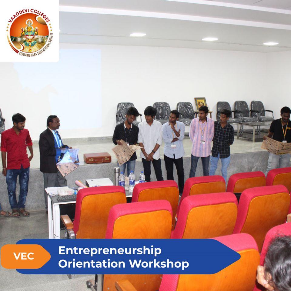 Entrepreneurship Orientation Workshop