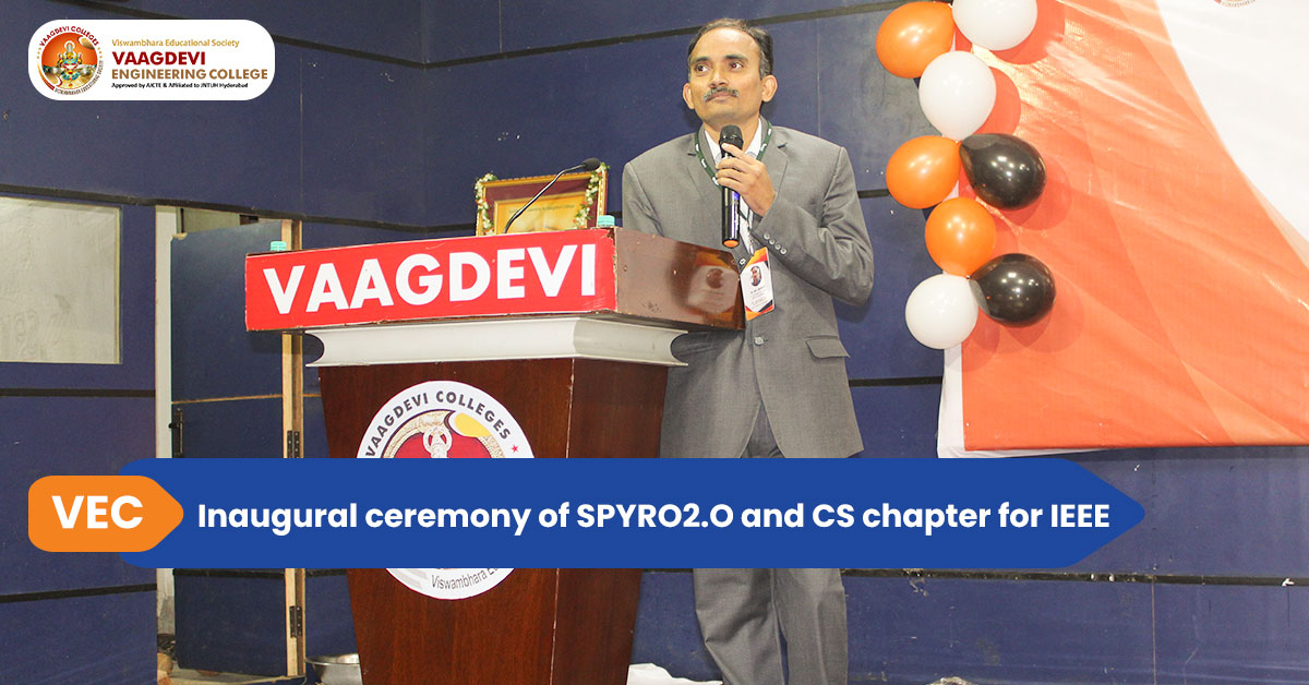 Inaugural ceremony of SPYRO2.0