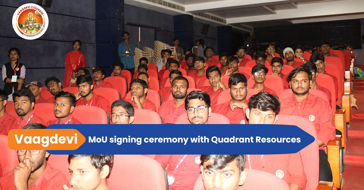 MoU signing ceremony..
