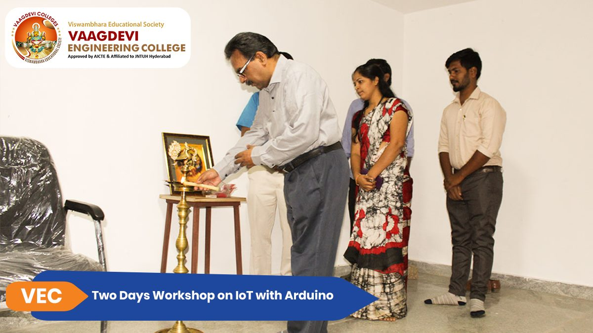 Two Days Workshop on IoT with Arduino