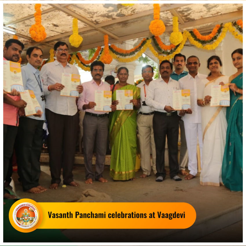 Vasanth Panchami Celebrations at Vaagdevi