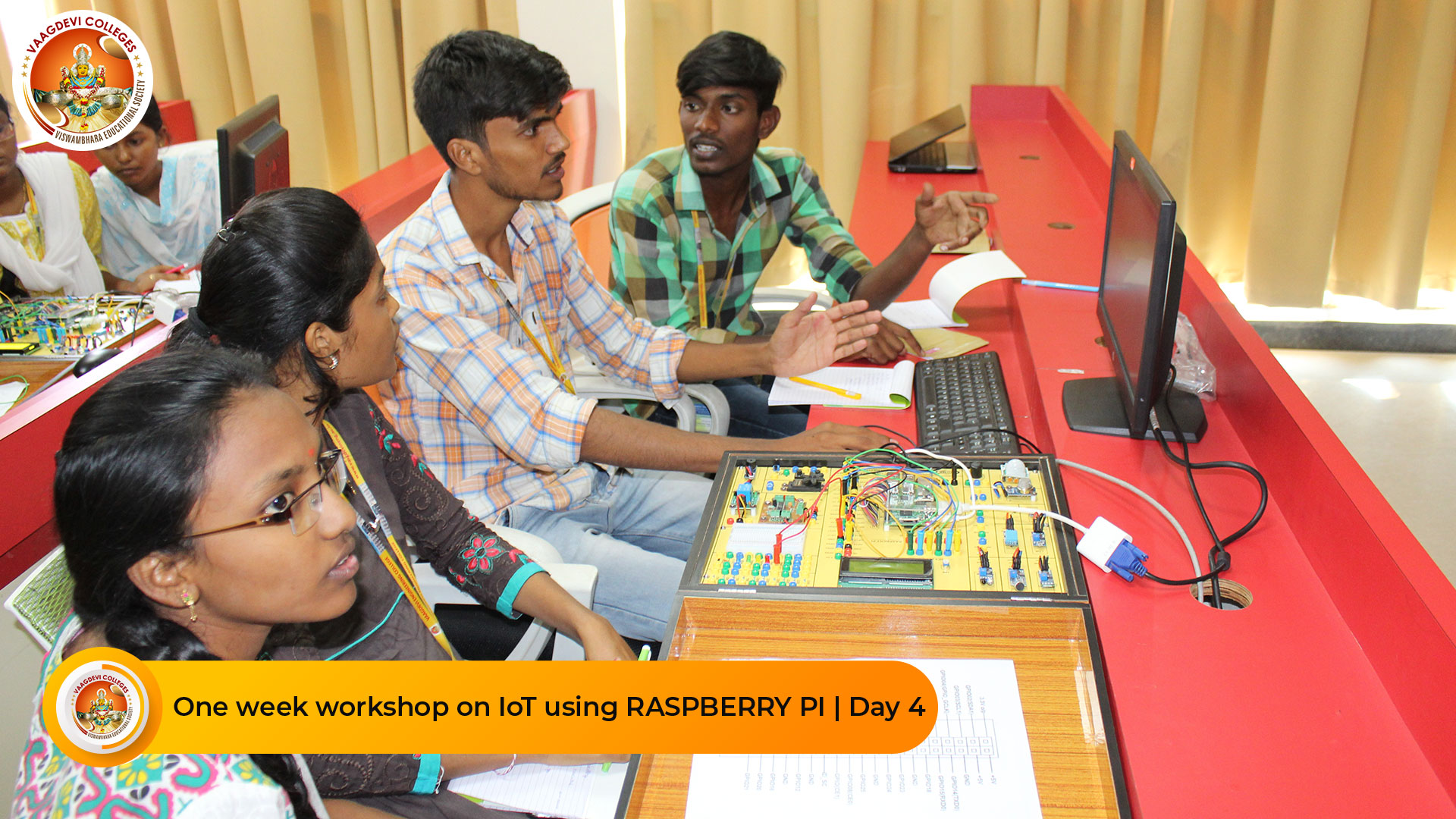 ONE WEEK WORKSHOP ON IOT USING RASPBERRY PI DAY 4