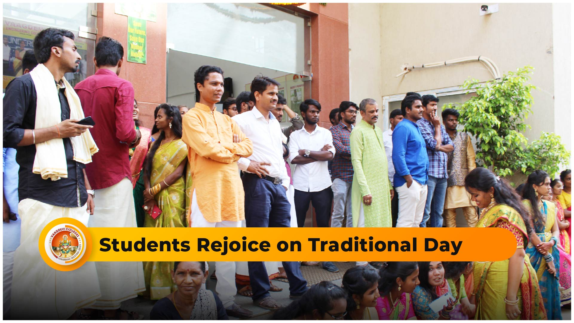 Students Rejoice on Traditional Day
