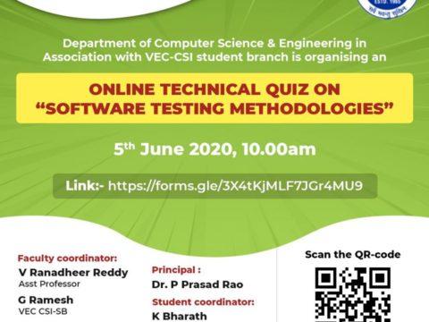 "online technical quiz on ""Software Testing Methodologies"""